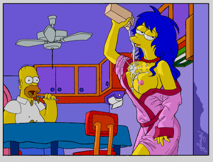 Cartoon Sex The Simpsons