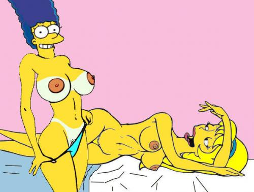 Marge Simpson Porn Washing Windows