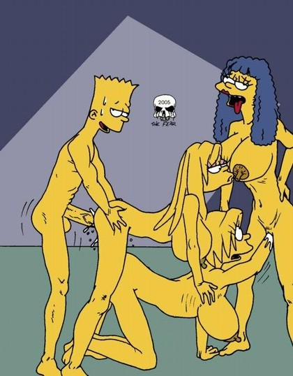 Marge Simpson Cartoon Sex