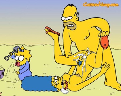 The Simpsons Nude