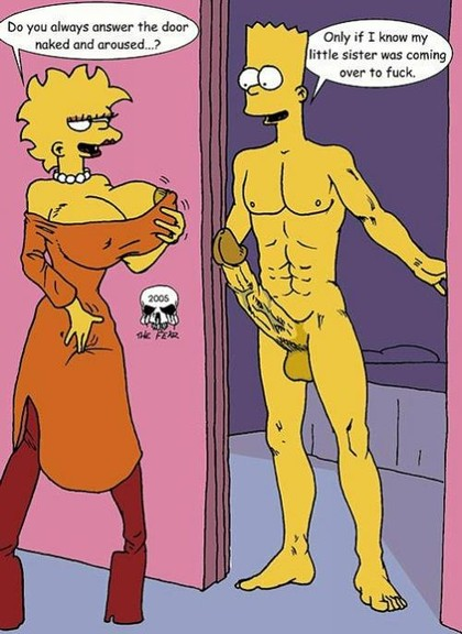 Naked Lisa From The Simpsons
