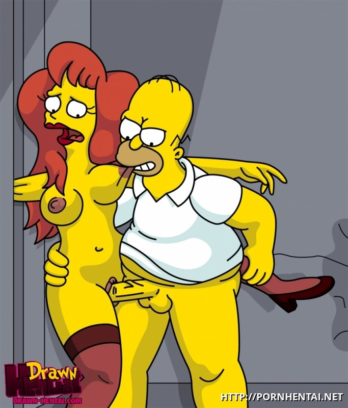 Simpsons Porn Marge Blowjob